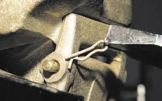 Замена передних тормозных колодок нива шевроле