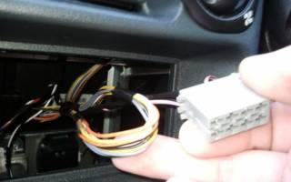 Как подключить магнитолу ваз 2106