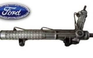 Ремонт рулевой рейки форд транзит