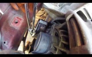 Как поменять ремень генератора на форд фокус 2