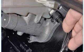 Замена главного цилиндра сцепления форд фокус 2