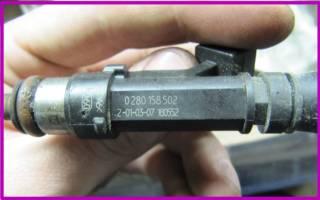 Как почистить инжектор на ваз 2107