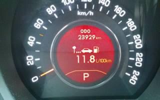 Расход топлива киа спортейдж дизель