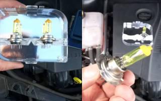 Как поменять лампочку на форд фокус 2