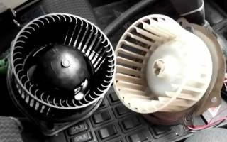 Как поменять моторчик печки на газели